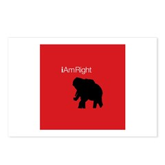 i Am Right. v3 Postcards (Package of 8)