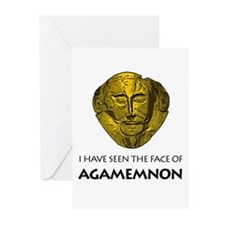 AGAMEMNON Greeting Cards (Pk of 10)
