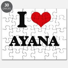 I Love Ayana Puzzle