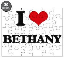 I Love Bethany Puzzle