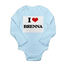 I Love Brenna Body Suit