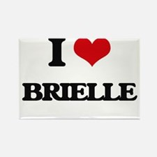 I Love Brielle Magnets