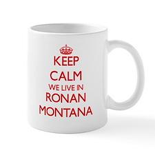 Keep calm we live in Ronan Montana Mugs
