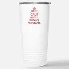Keep calm we live in Ro Travel Mug