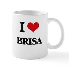 I Love Brisa Mugs