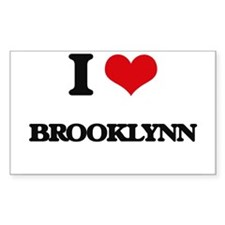 I Love Brooklynn Decal
