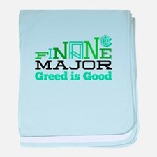 Greed Is Good baby blanket