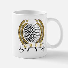 Classic Golf Emblem Mug
