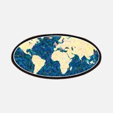 Artistic World Map Patches