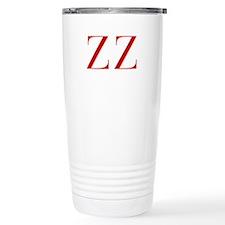 ZZ-bod red2 Travel Mug