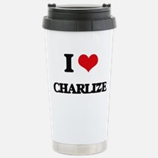 I Love Charlize Travel Mug