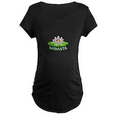 LOTUS NAMASTE Maternity T-Shirt