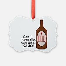 Ribs Sauce & BBQ Ornament