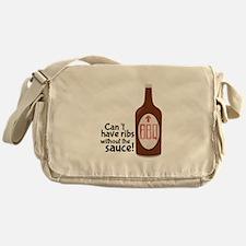 Ribs Sauce & BBQ Messenger Bag