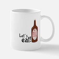 Lets Eat BBQ! Mugs