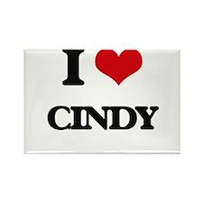 I Love Cindy Magnets