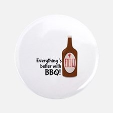 "Better With BBQ! 3.5"" Button"