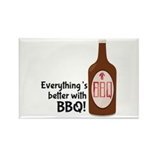 Better With BBQ! Magnets