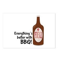 Better With BBQ! Postcards (Package of 8)