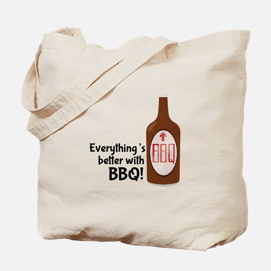 Better With BBQ! Tote Bag