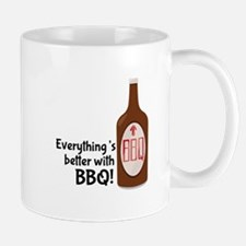 Better With BBQ! Mugs