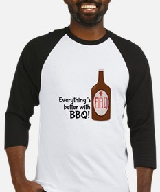 Better With BBQ! Baseball Jersey