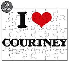 I Love Courtney Puzzle