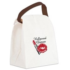 HOLLYWOOD GLAMOUR Canvas Lunch Bag