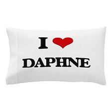 I Love Daphne Pillow Case