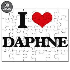 I Love Daphne Puzzle
