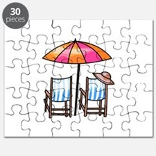 BEACH CHAIRS Puzzle