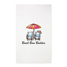 BEACH BUM BUDDIES Area Rug