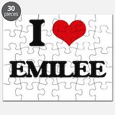 I Love Emilee Puzzle