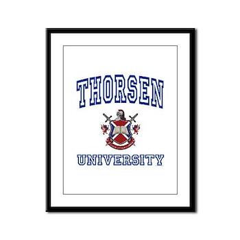 THORSEN University Framed Panel Print