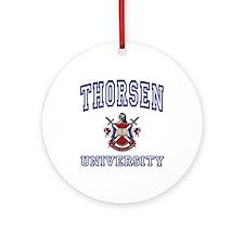 THORSEN University Ornament (Round)