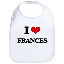 I Love Frances Bib