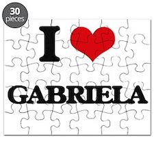 I Love Gabriela Puzzle