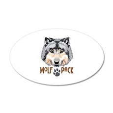 WOLF PACK Wall Decal