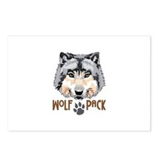 WOLF PACK Postcards (Package of 8)