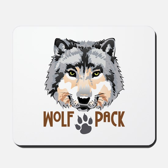 WOLF PACK Mousepad