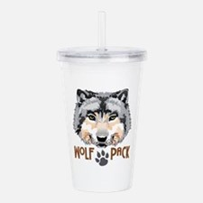 WOLF PACK Acrylic Double-wall Tumbler