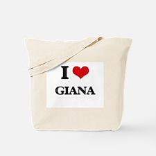 I Love Giana Tote Bag