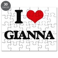 I Love Gianna Puzzle
