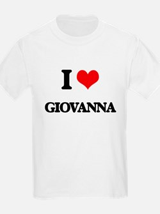 I Love Giovanna T-Shirt