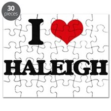 I Love Haleigh Puzzle