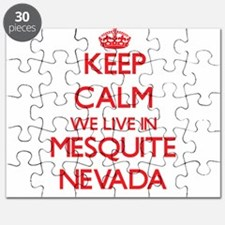 Keep calm we live in Mesquite Nevada Puzzle