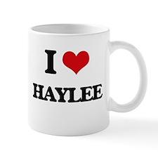I Love Haylee Mugs