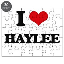 I Love Haylee Puzzle