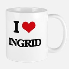 I Love Ingrid Mugs