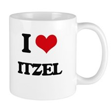 I Love Itzel Mugs